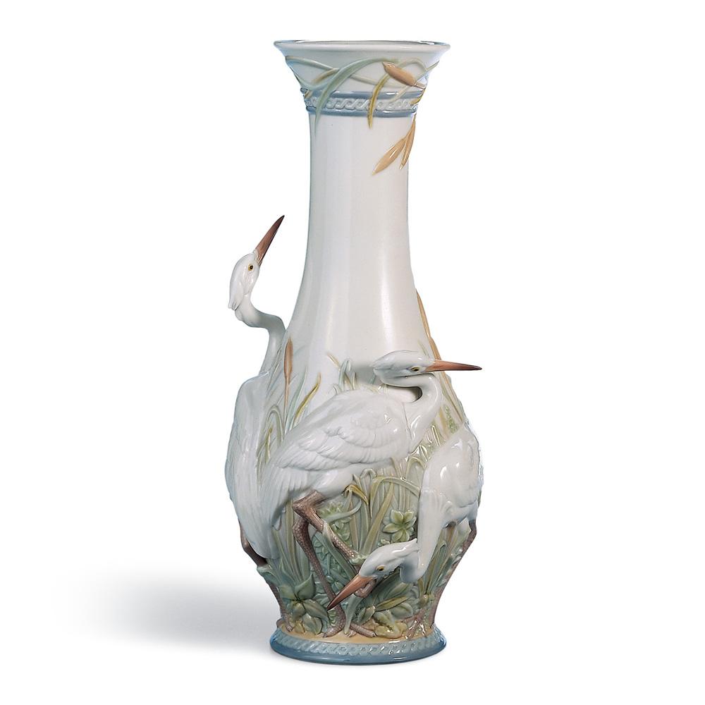 Heron's Realm Vase 01006881 - Lladro Vase