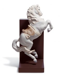 Horse On Courbette 01018254 - Lladro Figurine