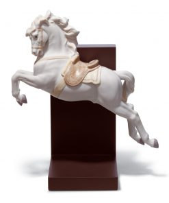 Horse On Pirouette 01018253 - Lladro Figurine