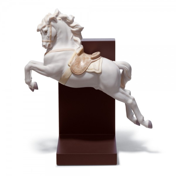Horse On Pirouette 01018253 - Lladro Figurine