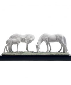Horses in the Meadow 01008699 - Lladro Figurine
