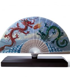 Imperial Dragon Fan 01001951 - Lladro Fan