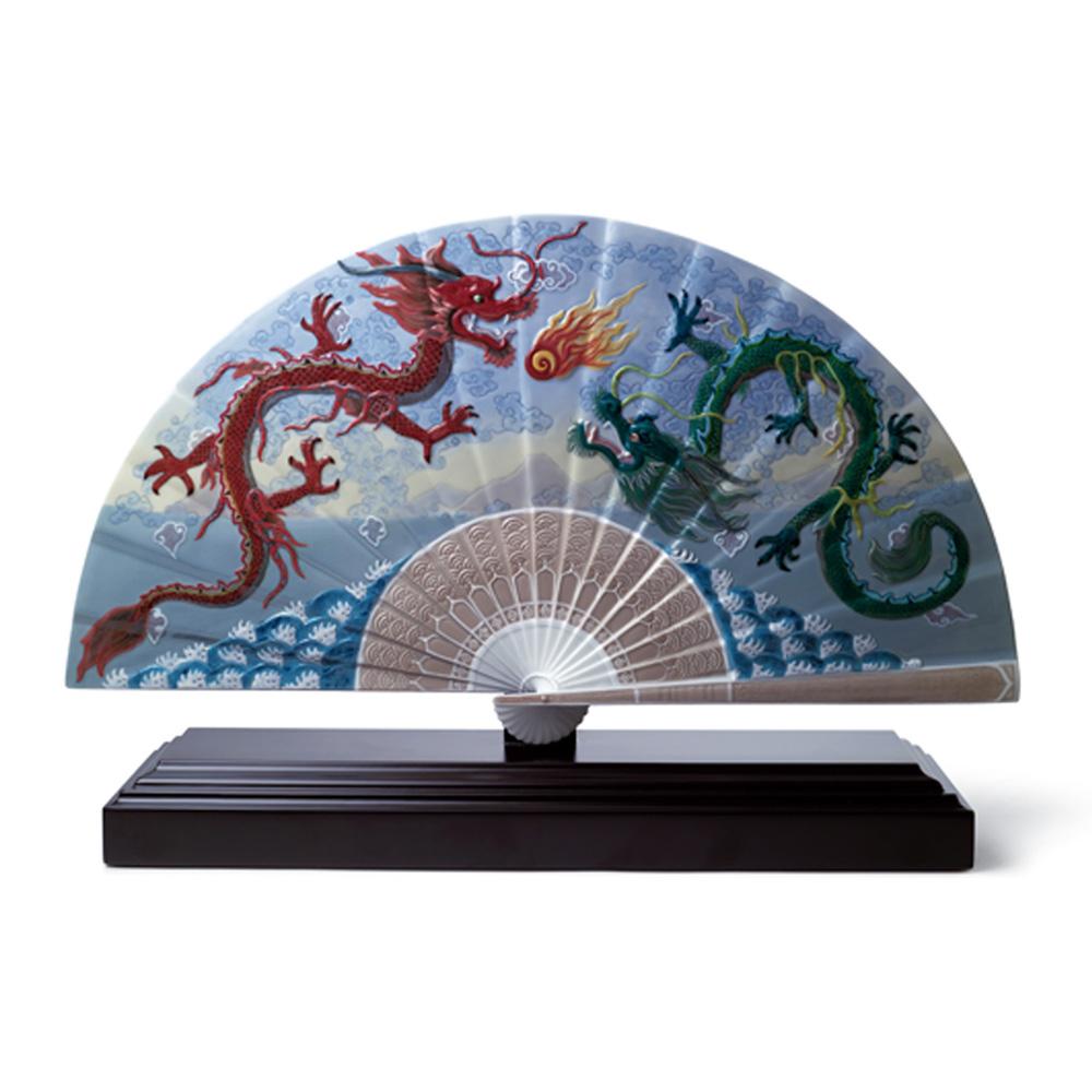 Imperial Dragon Fan 01001951 - Lladro Fan