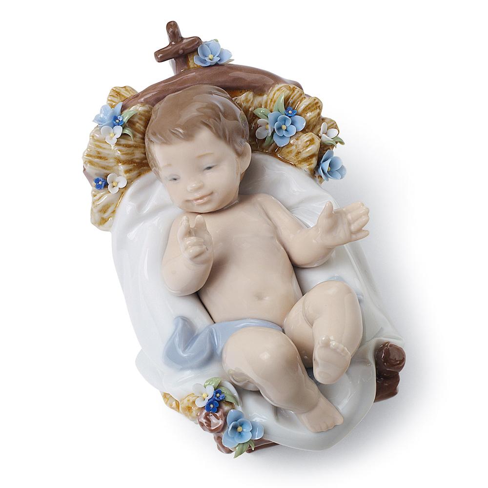 Infant Jesus 01008347- Lladro Figurine