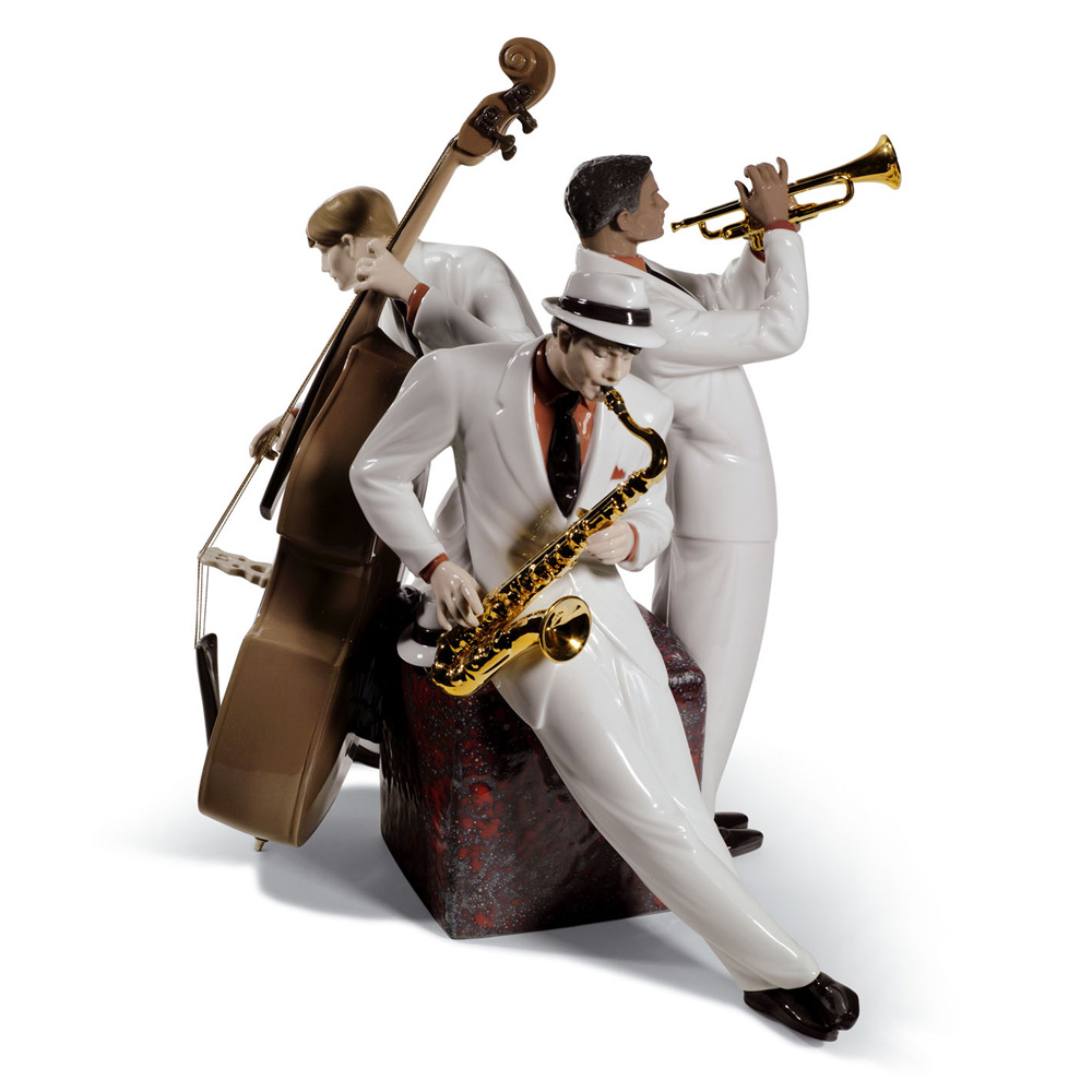 Jazz Trio 01008568 - Lladro Figurine