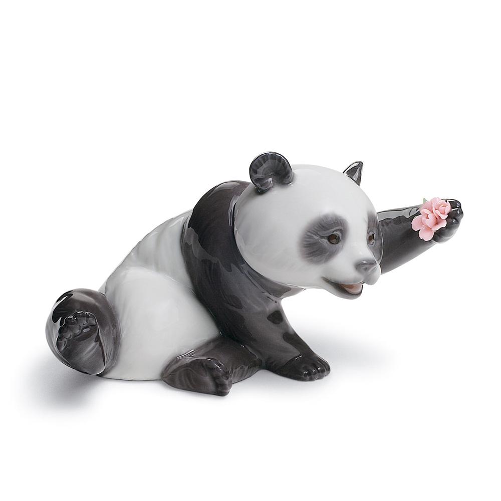 A Jolly Panda 01008359 - Lladro Figurine
