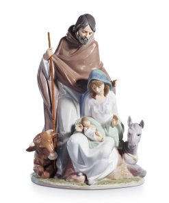 Joyful Event 01006008 (From the Nativity Series) - Lladro Figurine