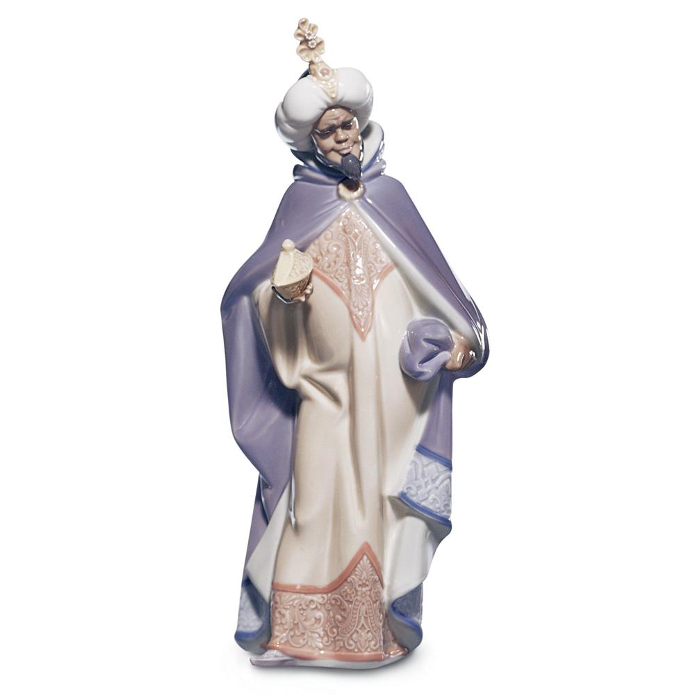 King Balthasar 01005481 - Lladro Figurine