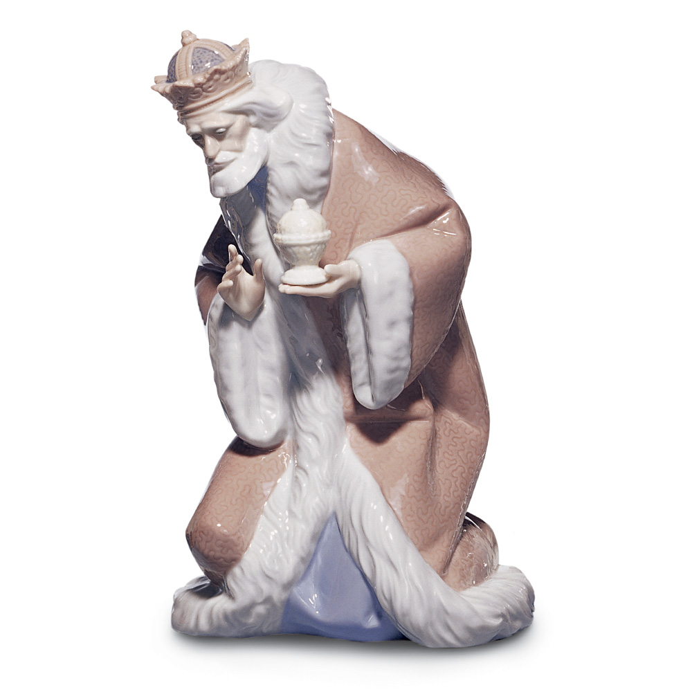 King Melchior 01005479 - Lladro Figurine