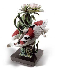 Koi 01001959 - Lladro Figurine
