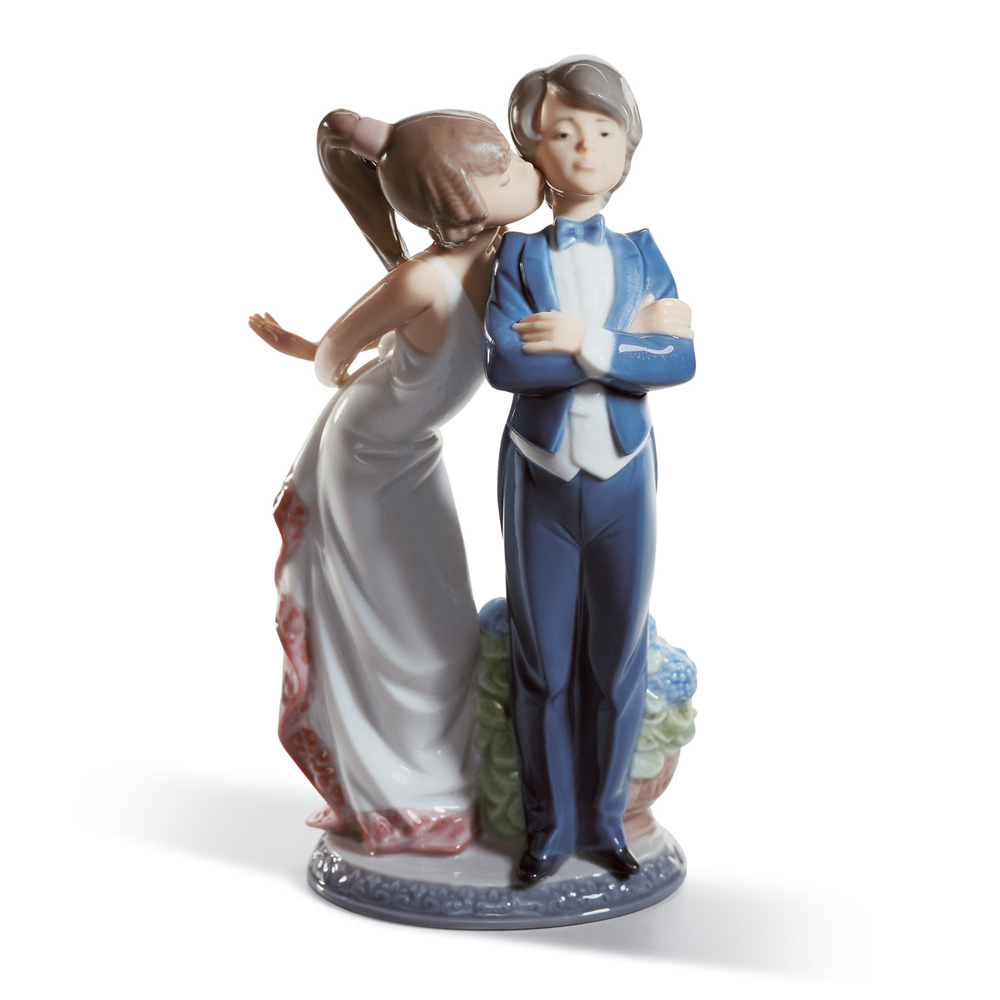 Let 39 s make up 01005555 lladro figurine seaway china company - Consider including lladro porcelain figurines home decoration ...