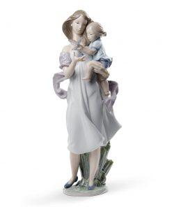 Look Mommy! 01008715 - Lladro Figurine