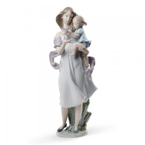 Look Mommy! 01008715 - Lladro Figurine