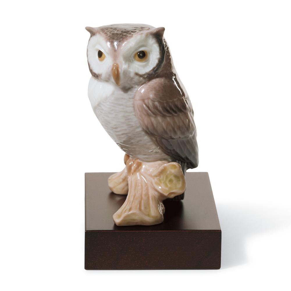 Lucky Owl 01008035 - Lladro Figurine