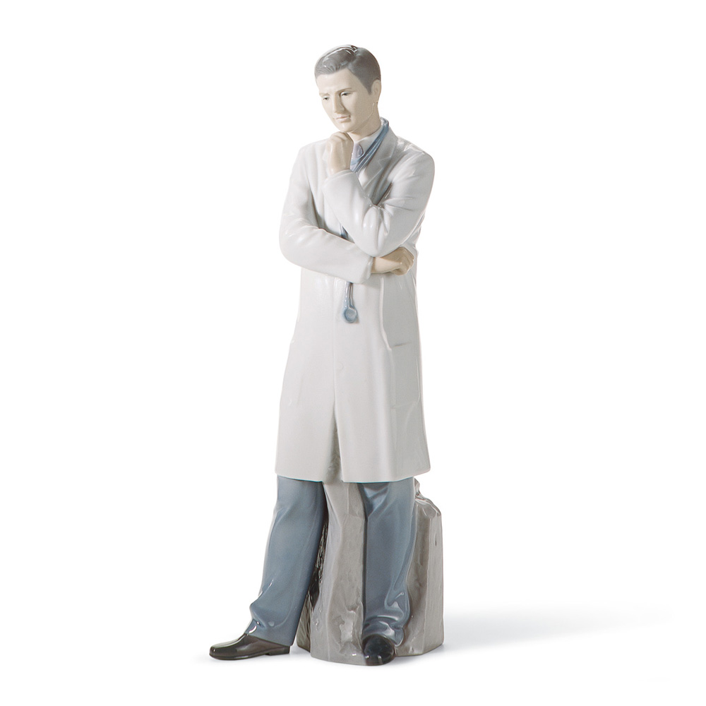 Male Doctor 01008188 - Lladro Figurine