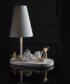 Mermaids 01023026 - Lladro Lamp