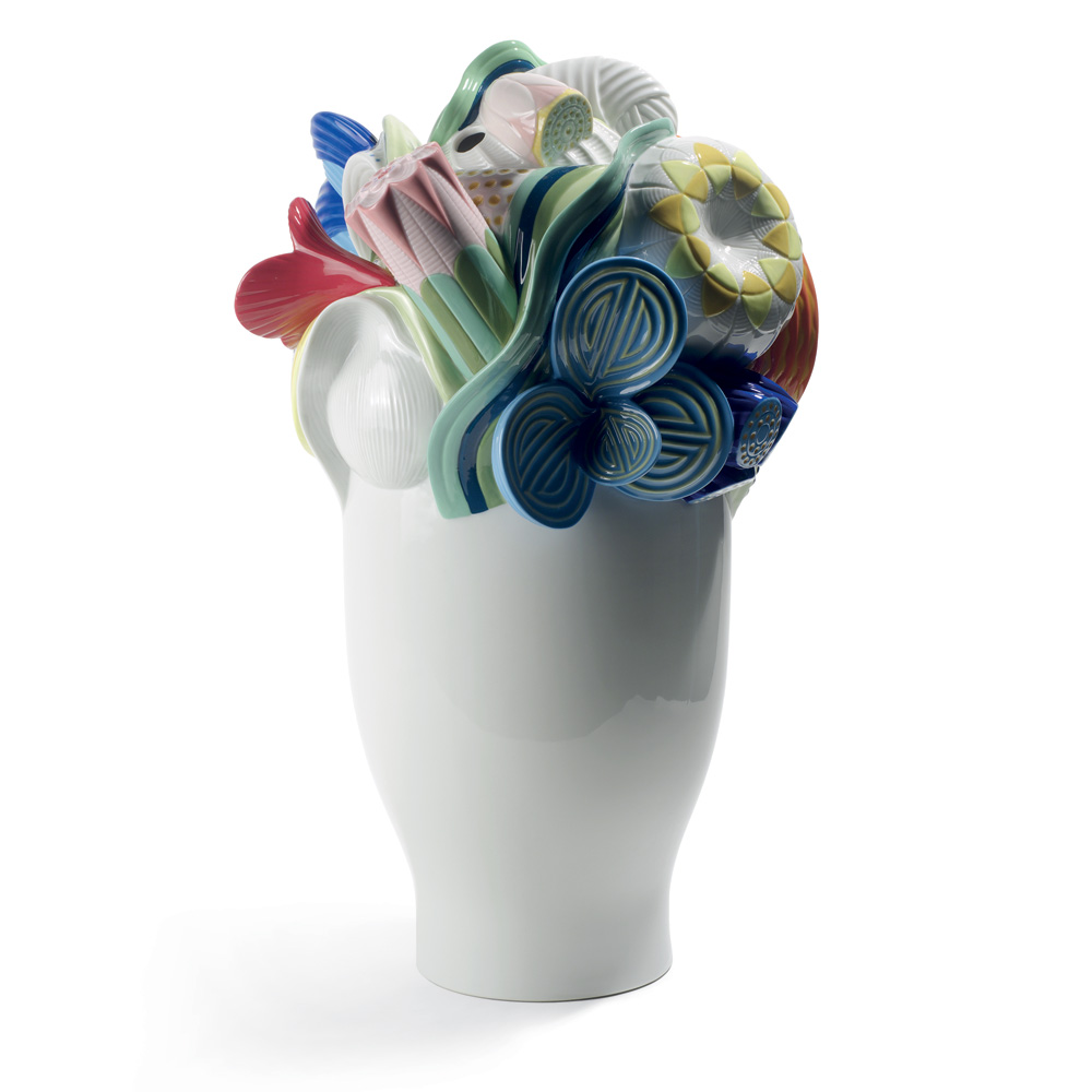 Multi-colored Naturofantasic Vase (Large) 1007916 - Lladro Vase