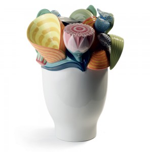 Multi-colored Naturofantasic Vase (Small) 1007915 - Lladro Vase