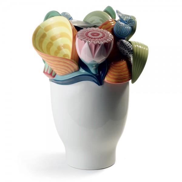 Multi-colored Naturofantasic Vase (Small) 1007915 - Lladro Vase