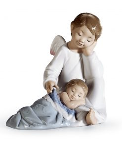 My Guardian Angel (Blue) 01006961 - Lladro Figurine