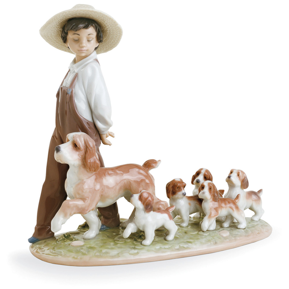 My Little Explorers 01006828 - Lladro Figurine