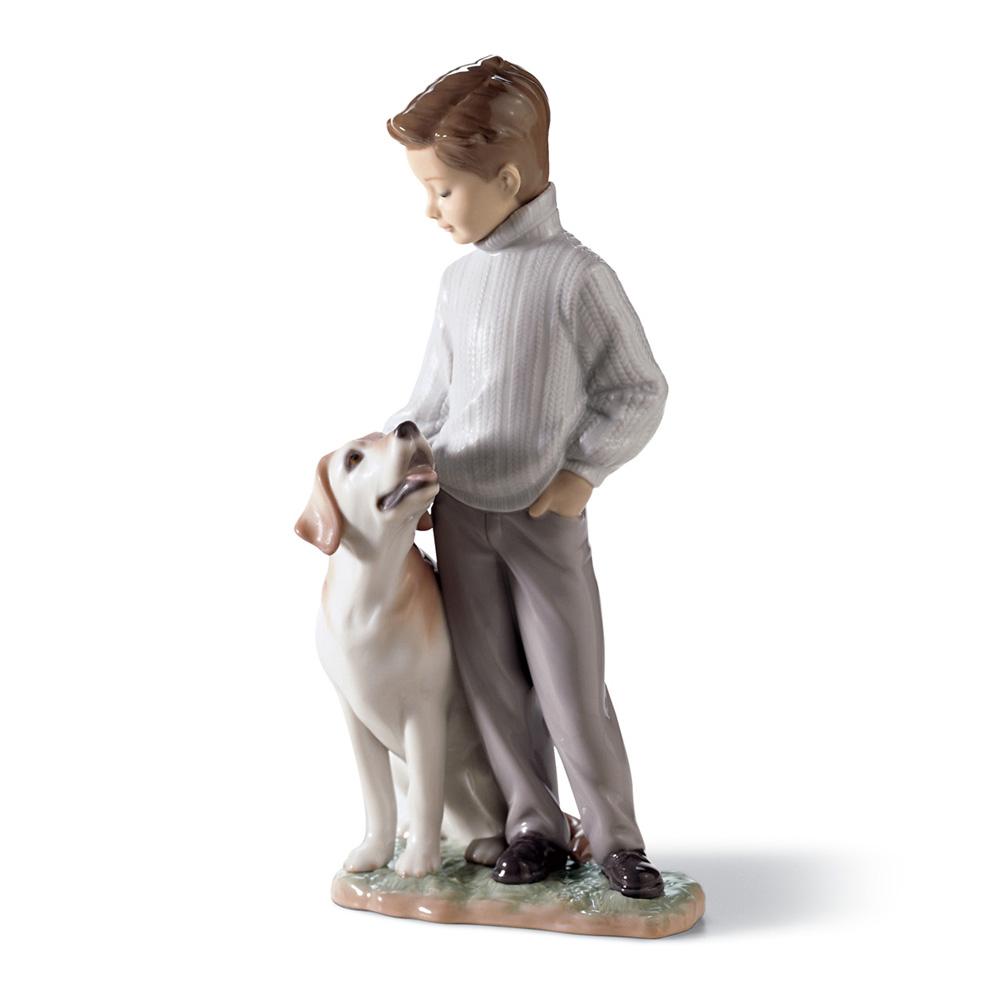 My Loyal Friend 01006902 - Lladro Figurine