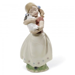 My Sweet Little Puppy 01008531 - Lladro Figurine