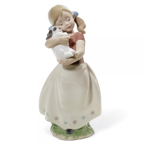 My Sweet Little Puppy 01008531 - Lladro Figurine