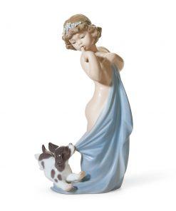 Naughty Puppy 01008106 - Lladro Figurine