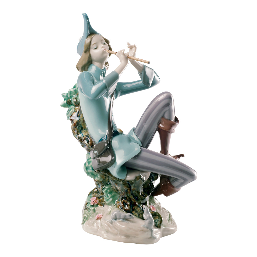 Pied Piper of Hamelin 01008425 - Lladro Figurine