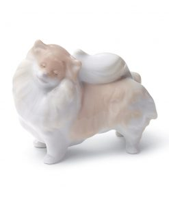 Pomeranian 01008338 - Lladro Figurine