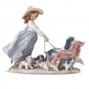 Puppy Parade 01006784 - Lladro Figurine
