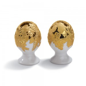 Salt & Pepper Shakers (Golden) 01007943 - Lladro Shaker