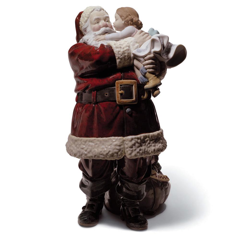 Santa Ive Been Good 01001960 - Lladro Figurine