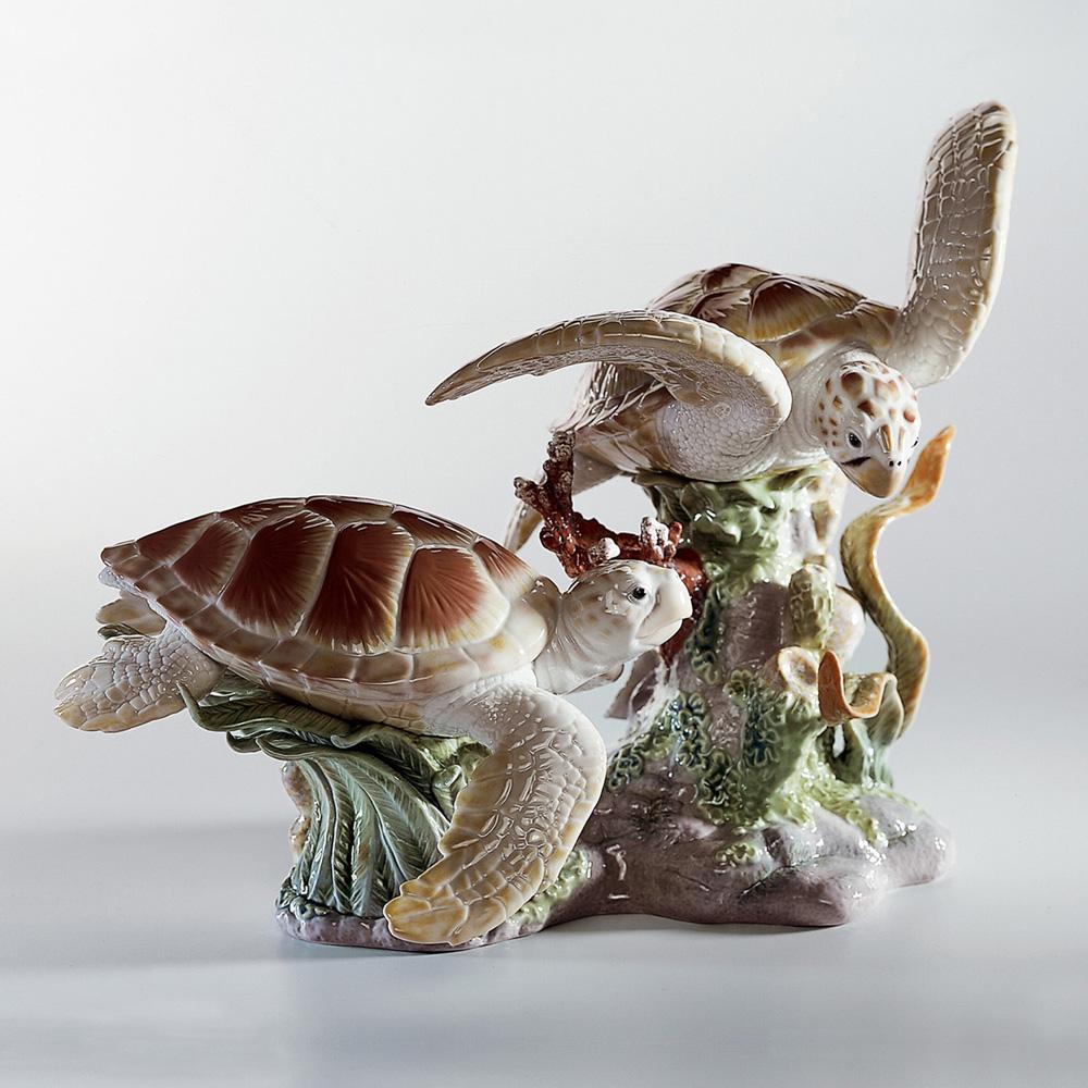 Sea Turtles 01006953 - Lladro Figurine