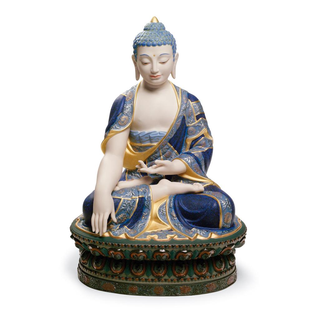 Shakyamuni Budda (Golden) 01012526 - Lladro Figurine