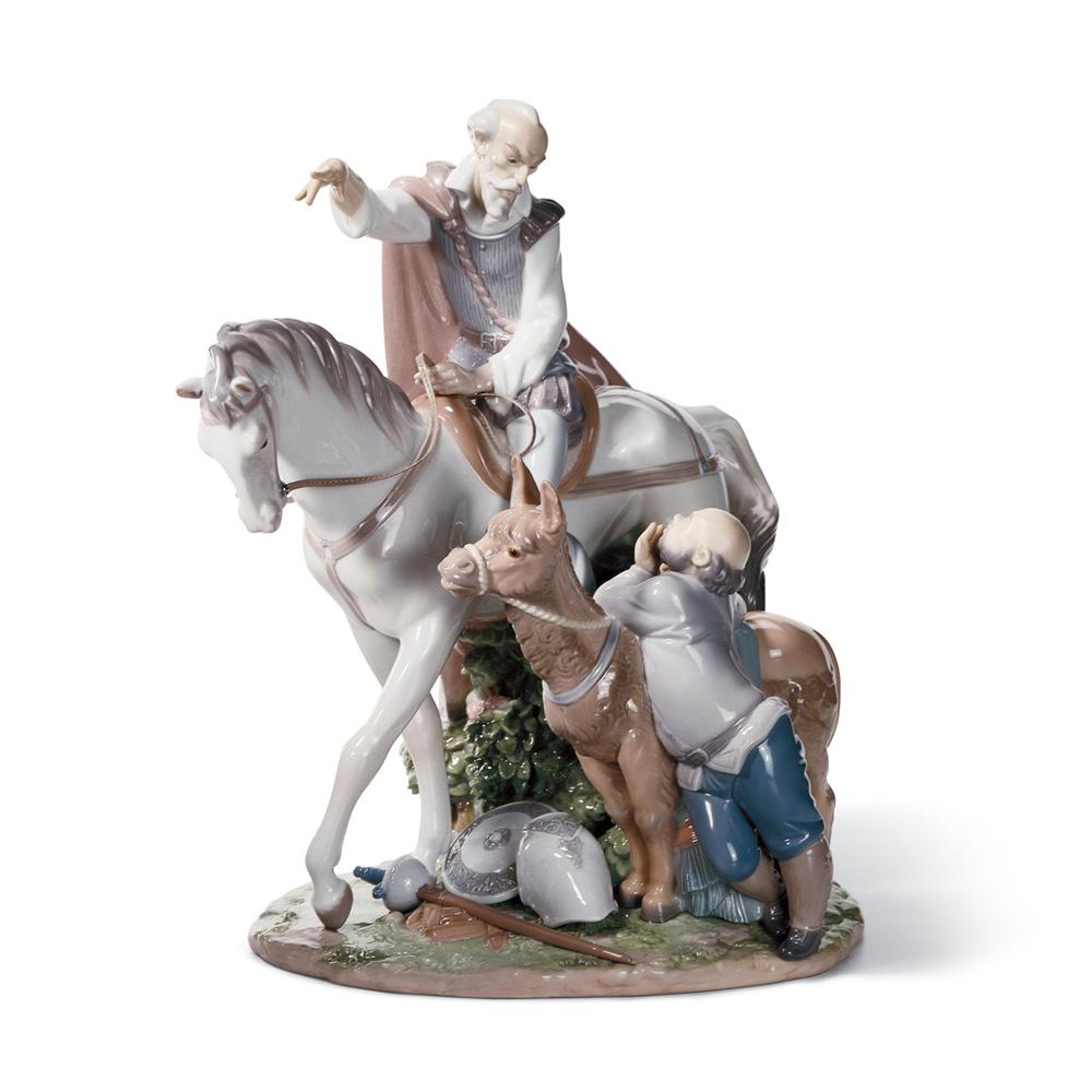 Somewhere in La Mancha 01001892 - Lladro Figurine