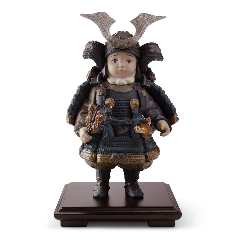 Warrior Boy 01013042 - Lladro Figurine