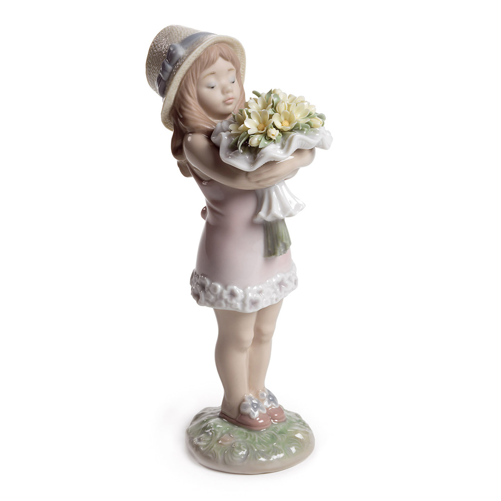 You Deserve The Best (Girl) 01008313 - Lladro Figurine