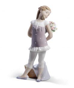 Your Favorite Flowers 01008632 - Lladro Figurine