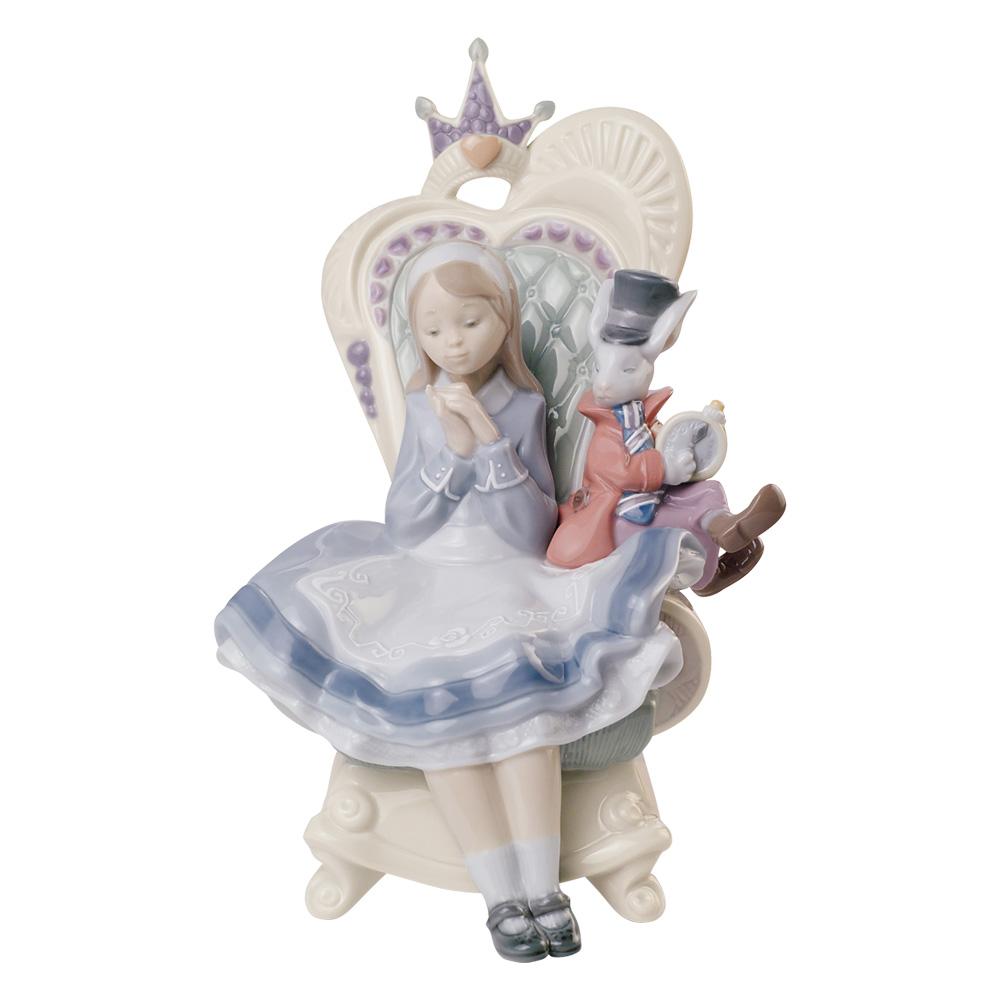 Alice In Wonderland 01008350 - Lladro Figurine
