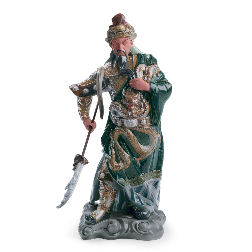 Ancient Dynasty Warrior 01008441 - Lladro Figurine