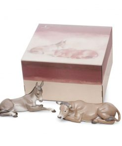 Animals at Bethlehem 2pc. 01007810 - Lladro Figurines