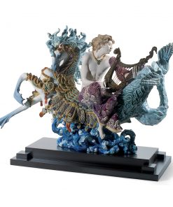 Arion on a Sea Horse 01001948 -  Lladro