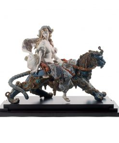 Bacchante on a Panther 01001949 -  Lladro