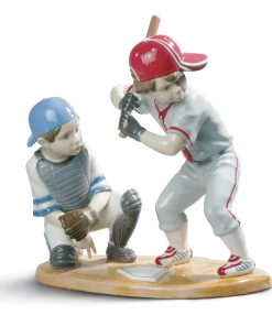 Baseball Players - Lladro Figurine