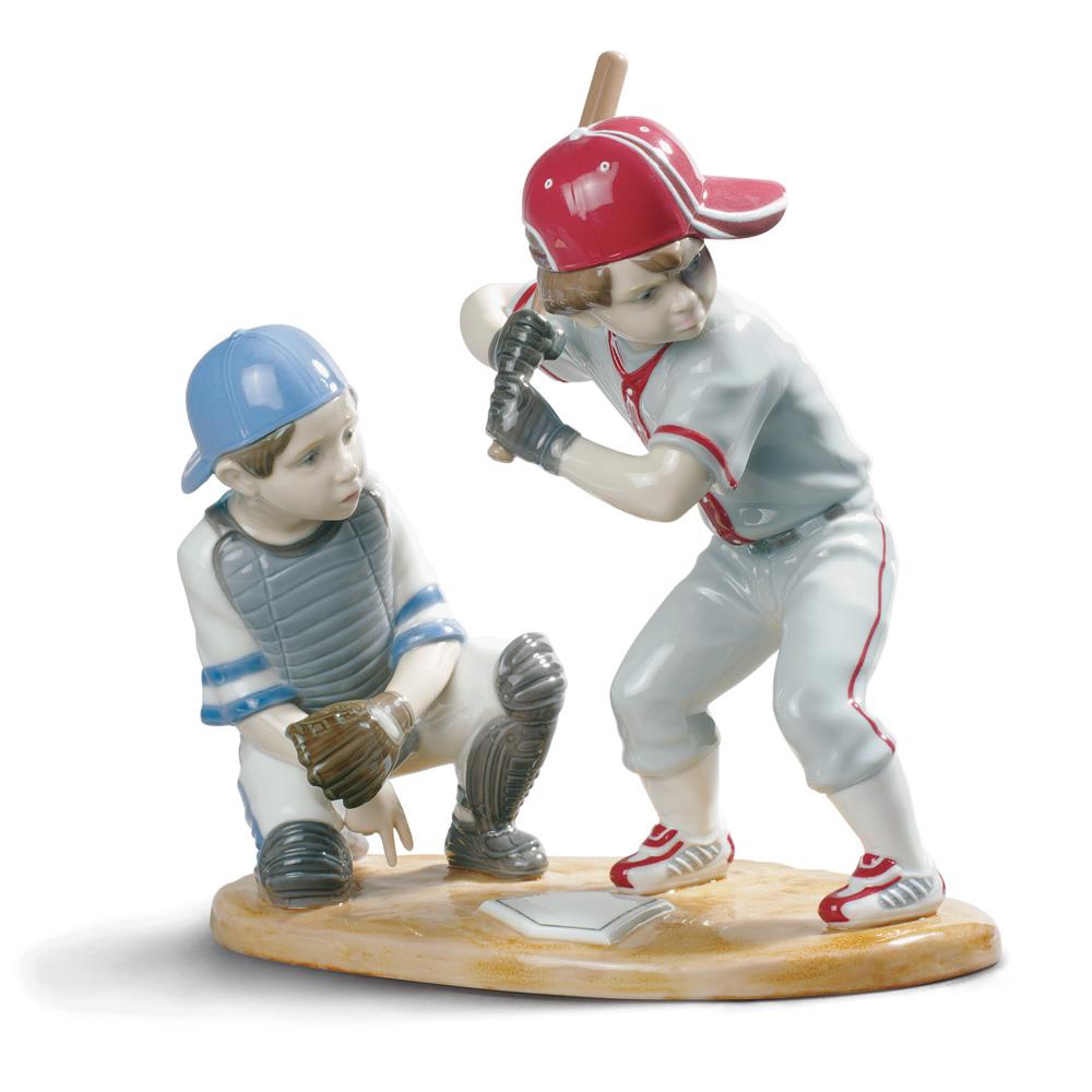 Baseball Players - Lladro Figurine