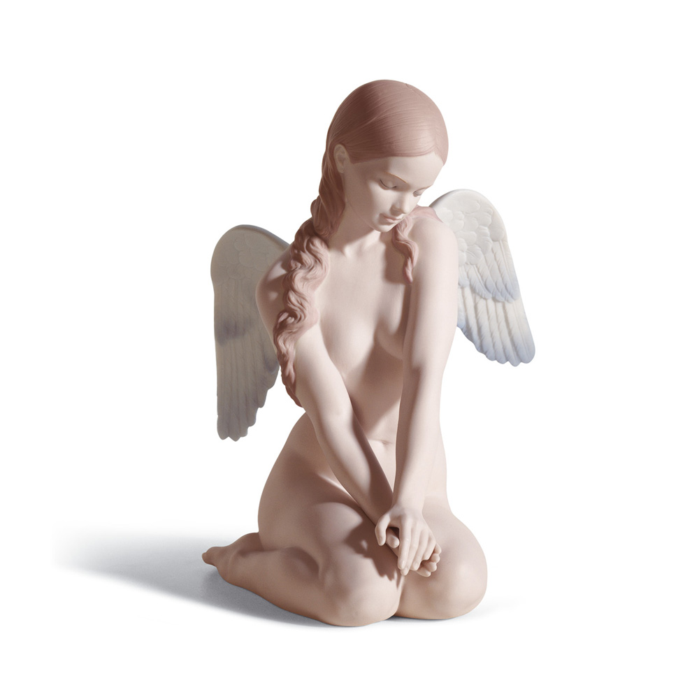 Beautiful Angel - 01018235 - Lladro Figurine