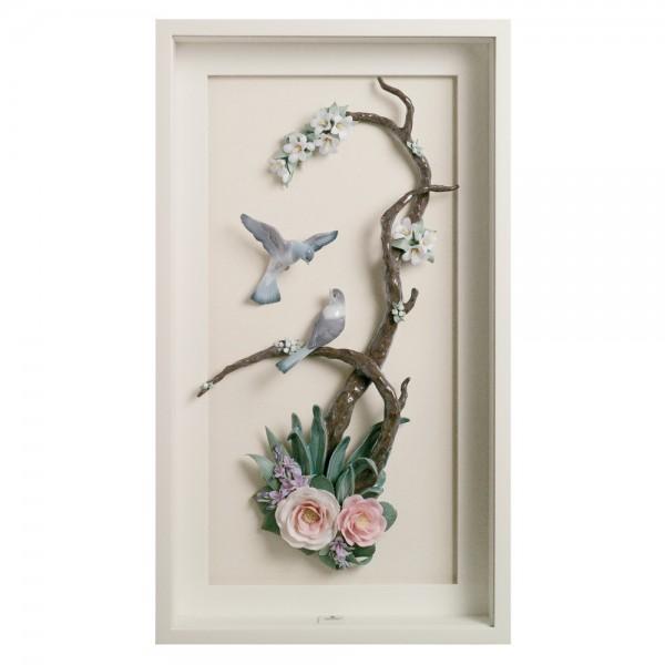 Birds on Branch 01008351 - Lladro Figurine