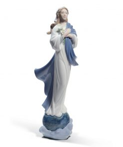 Blessed Virgin Mary 01008642 - Lladro Figurine